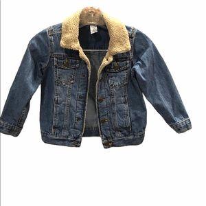 Carter's Kid Boys Denim Jacket Sz 6
